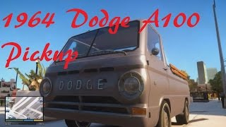 1964 Dodge A100 Pickup mod gta 4