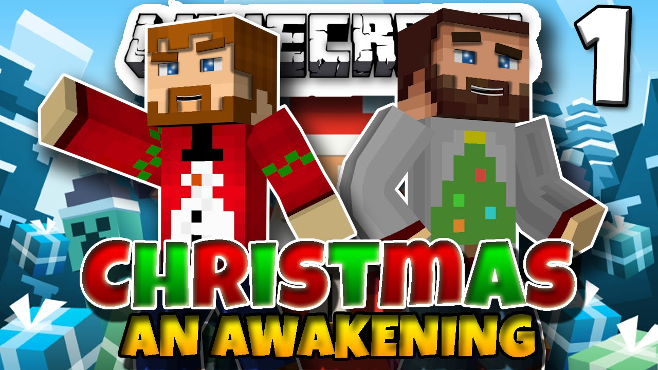 Minecraft: Christmas, An Awakening! - Part 1 | Minecraft Christmas ...