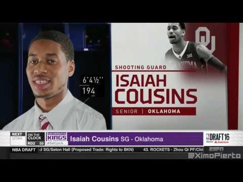 2016 NBA Draft   #59 Pick׃ Isaiah Cousins   Sacramento Kings