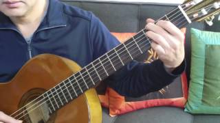 """Hướng Dẫn Guitar Solo (intro) Nhạc Phẩm """"MÙA ĐÔNG CỦA ANH"""""""