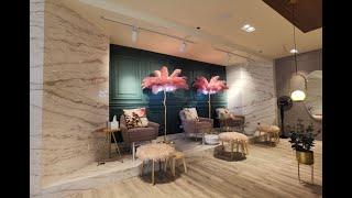 صالون نسائي في دبي من تصميم و تنفيذ أركود للتصميم الداخلي