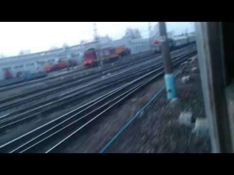 Отправляемся от станций Малоярославец на ЭР2Т-7154