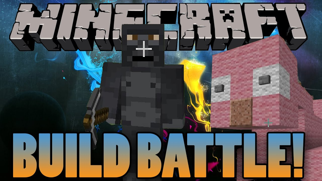 Minecraft Piggy Bank Build