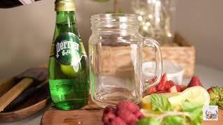 سلسلة المشروبات : موهيتو الفروالة والراز بيري