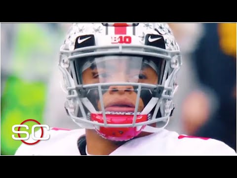 Justin Fields talks decision to stay at Ohio State, reflects on loss to Clemson | SportsCenter