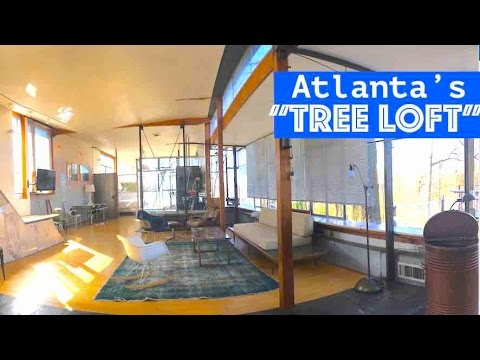 "Atlanta GLASS ""Tree Loft"" Home is Ultra Modern"