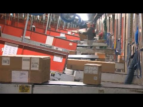 Inside the world's largest automated package facility