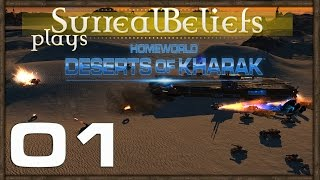 Surreal Plays Homeworld Deserts of Kharak Gameplay PC 1080p 60 FPS