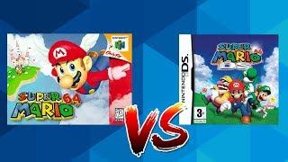 Mario 64 vs Mario 64 DS - Original oder Remake?