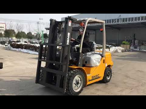 snsc forklit/3.0ton diesel forklift exported to KUWAIT