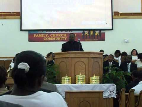 Rev. Elmore Garner Part One This Church Is Killing Me MCBC Lake Charles, Louisiana