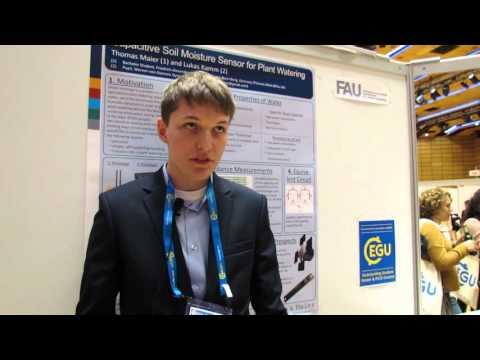 EGU16: Youngest EGU General Assembly Delegate Sends Sensor to Space