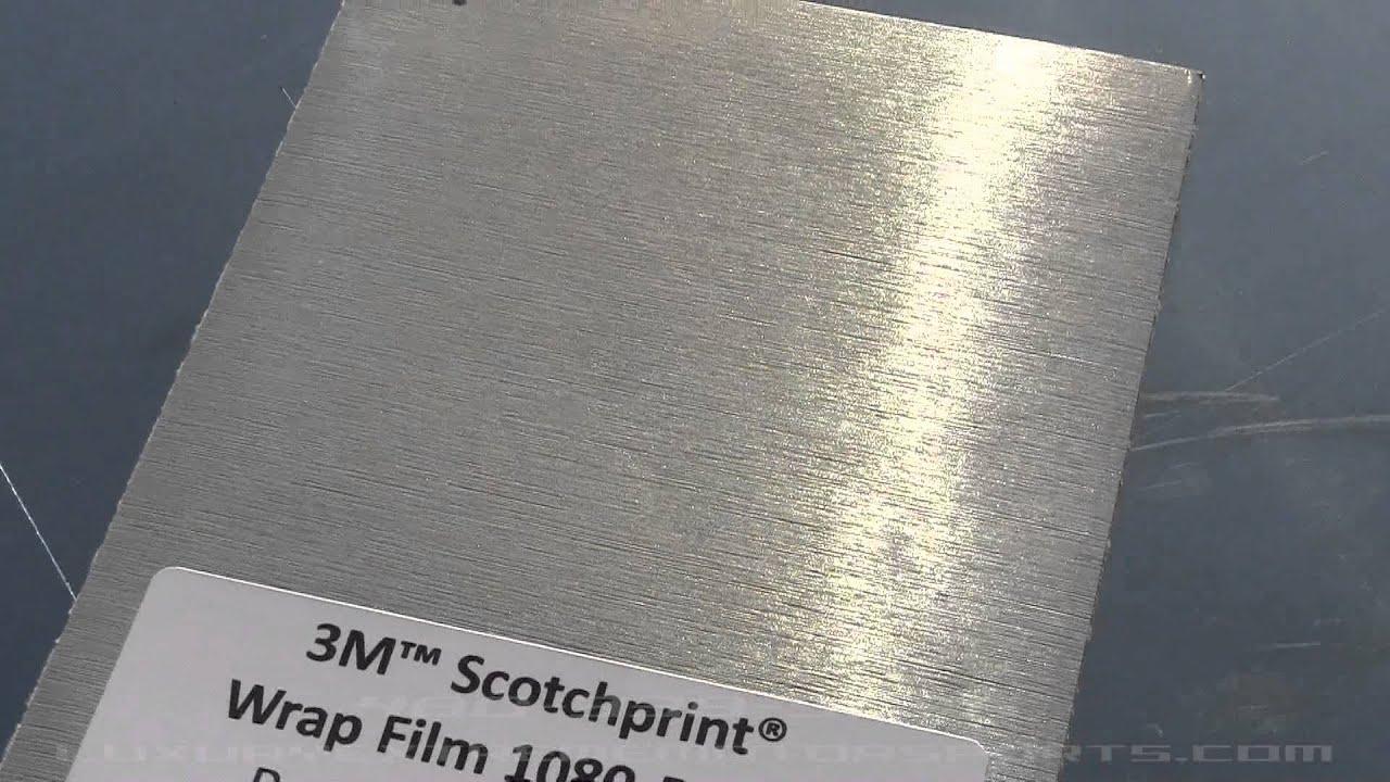 Brushed Aluminum Vinyl 3m Youtube