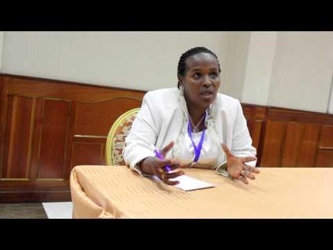 Dr. Spes Ndayishimiye from Ministry of Health Burundi