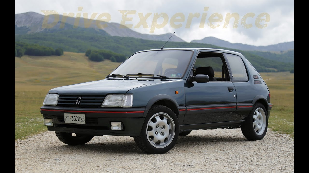 peugeot 205 gti 1 9 davide cironi drive experience eng subs youtube. Black Bedroom Furniture Sets. Home Design Ideas
