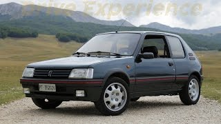 Peugeot 205 GTi 1.9 - Davide Cironi drive experience (ENG.SUBS)