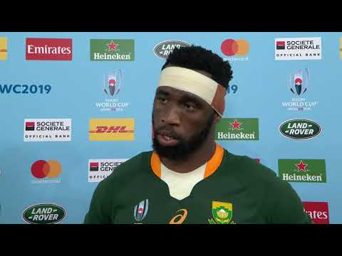 Siya Kolisi leading South Africa to the Rugby World Cup -
