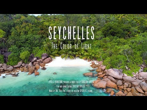 Seychelles - The Color of Light - 4K drone footage