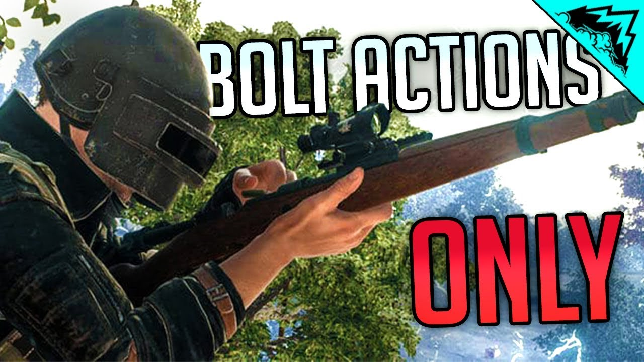 BOLT ONLY - PUBG WTF RULES