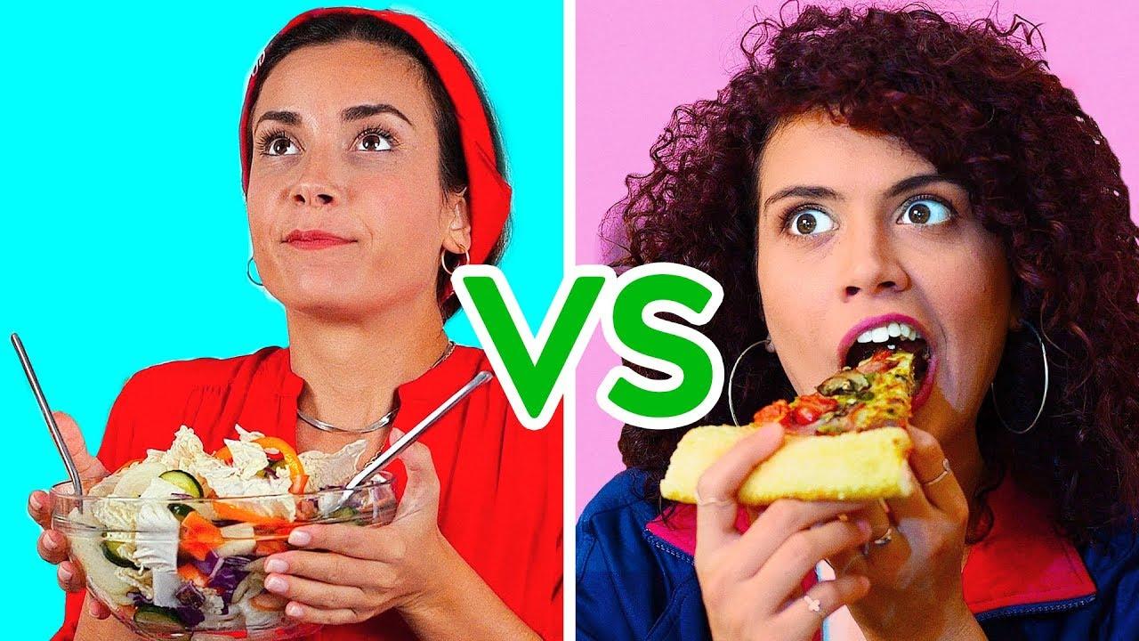 هناك نوعان من الفتيات أفضل المواقف المضحكة مقدمة Youtube