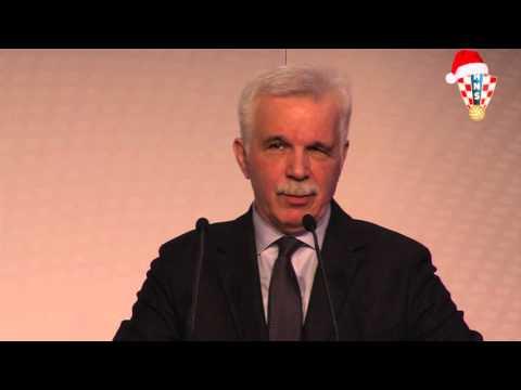 Govor počasnog predsjednika HNS-a Mladena Vedriša