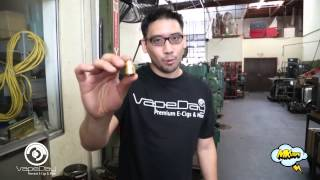 HOW THE Mod, RDA AND DRIP TIPS ITS MADE MK Vape Exclusive