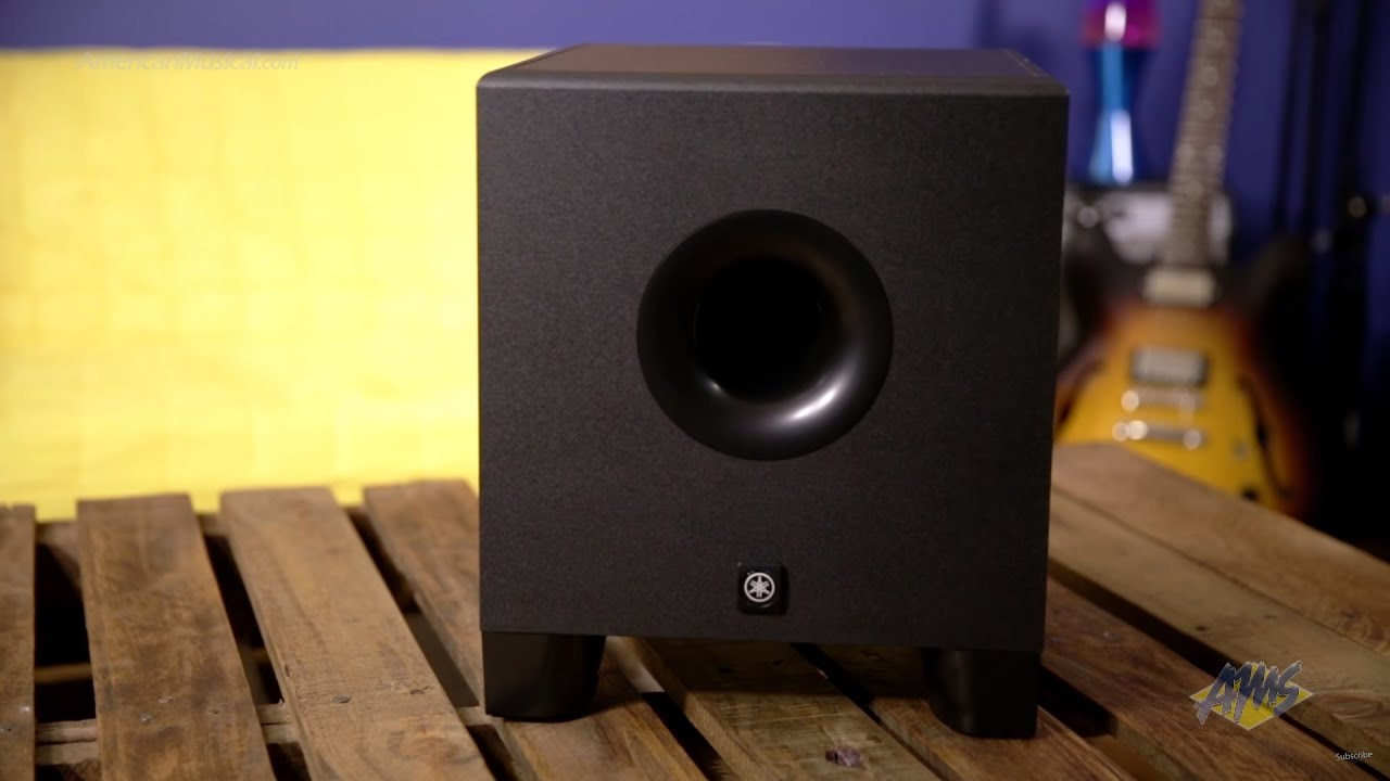 small resolution of yamaha hs8s 8 inch powered studio subwoofer yamaha hs8s
