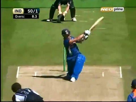 Sachin Tendulkar - Magical 163* Vs NZ | 43rd ODI Century