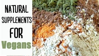 Natural Supplements for Vegans | Fablunch Thumbnail