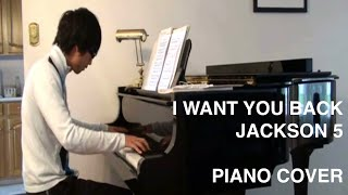 I Want You Back - Jackson 5 (Piano Cover) Thumbnail