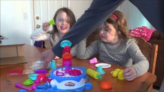 Unboxing Play Doh Cake and Ice Cream Confections Set This Kids Loved It