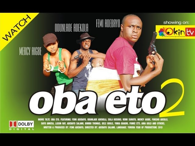 Oba Eto Part 2 Yoruba Nollywood Love Movie Starring Femi Adebayo Travel Video