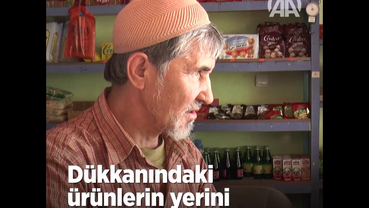 """Görme Engelli """"Şen Bakkal""""In Şaşırtan Hafızası"""