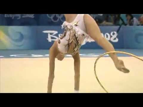 Olga Kapranova Hoop Final Beijing 2008