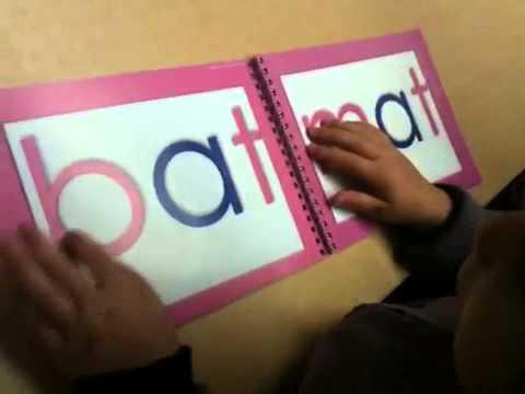 montessori reading activities - 3 letter words www.virtualmontessori