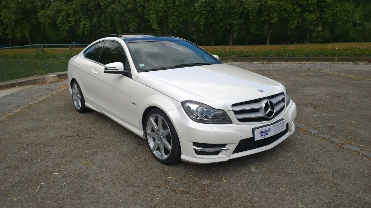 mercedes benz classe c coup 220 cdi blueefficiency xecutive 7g tronic pack amg youtube
