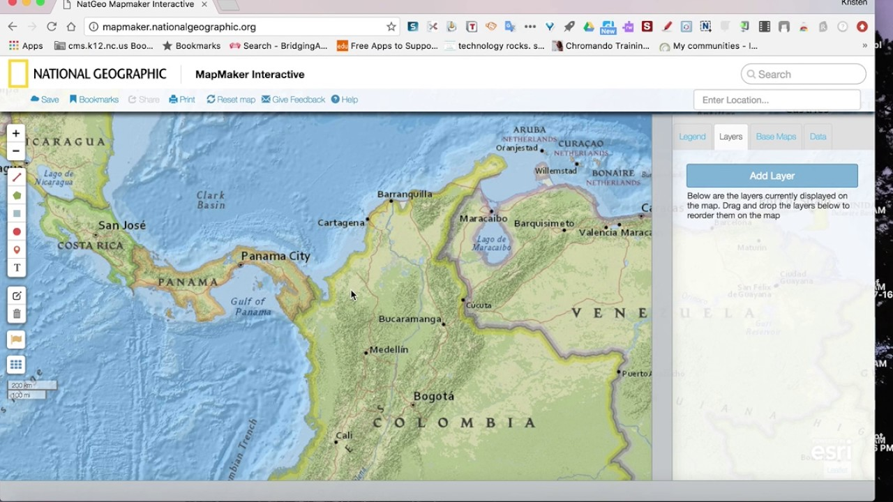 Using National Geographic MapMaker Interactive - YouTube