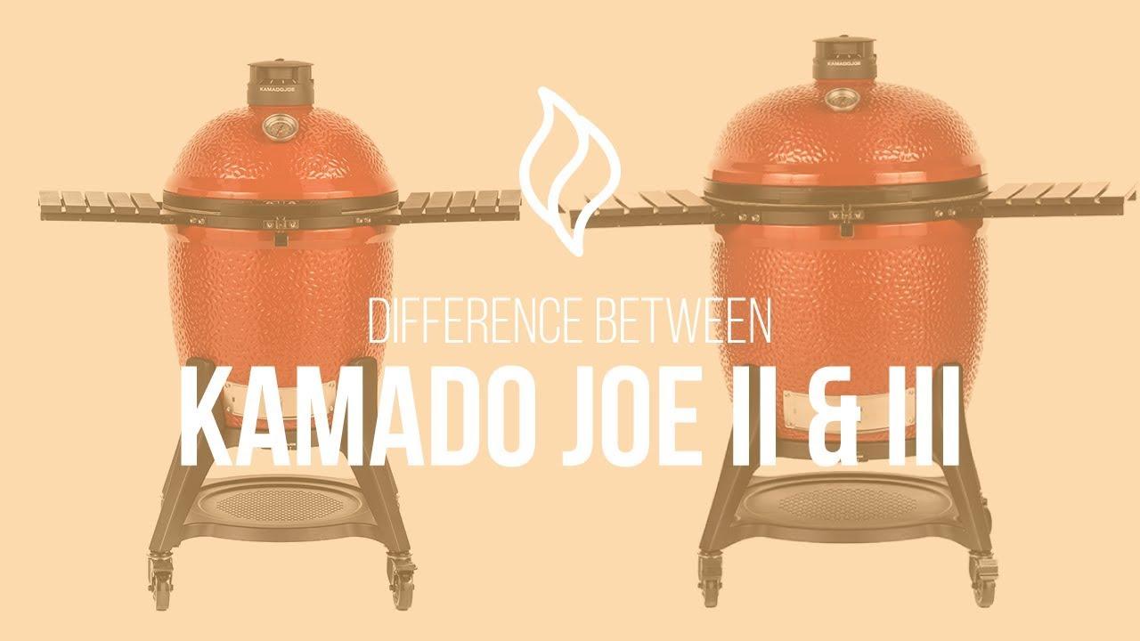 Difference Between Kamado Joe Classic II and Classic III