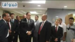 بالفيديو : افتتاح مقر جديد للبنك الأهلي المصري بالفيوم
