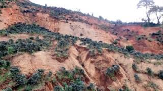 Zona de deslizamiento Quebrada Honda/Mora/Costa Rica  25DIC2016