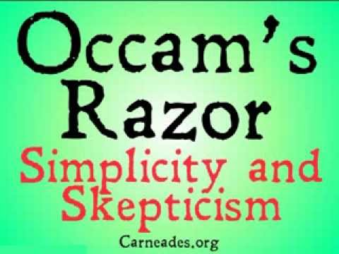 Occam's Razor (and why you should be skeptical of it)