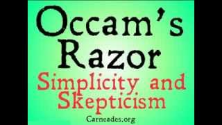 occams razor and why you should be skeptical of it