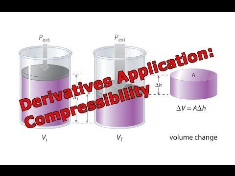 Derivatives Application: Compressibility