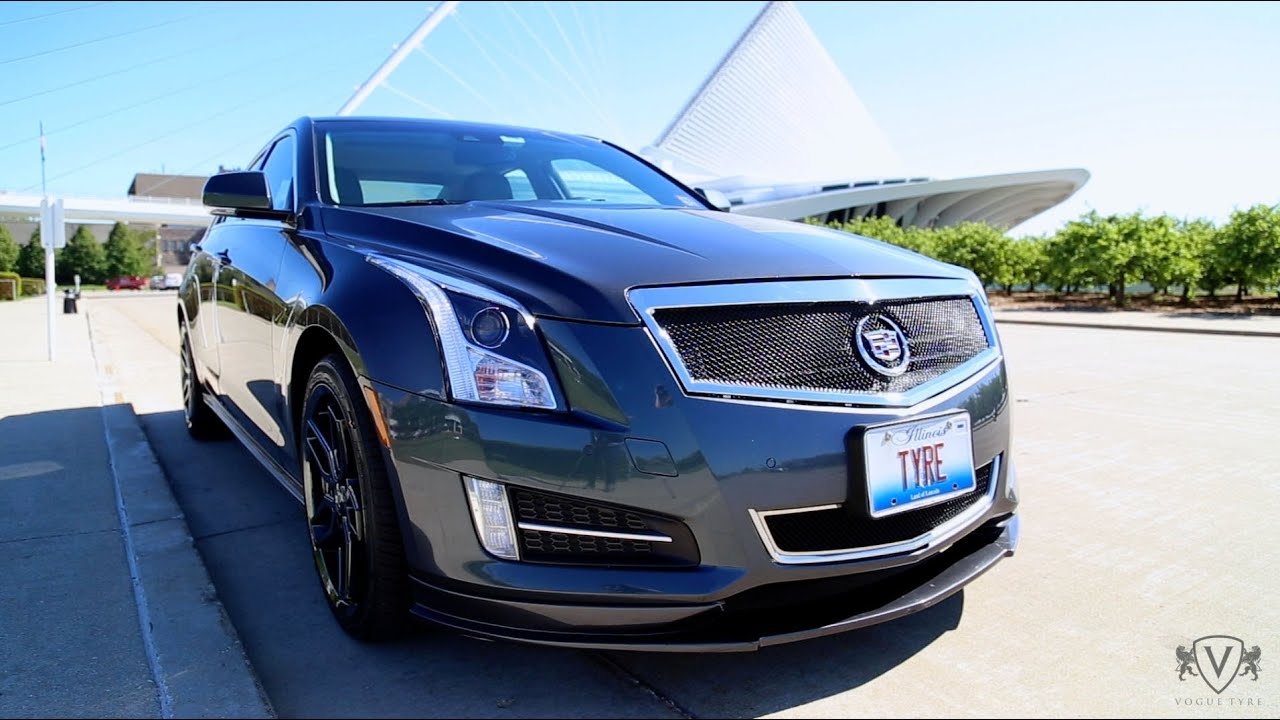 custom cadillac ats signature v edition from vogue tyre youtube. Black Bedroom Furniture Sets. Home Design Ideas