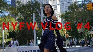 What It's Like Inside A Fashion Show - NYFW | Aimee Song