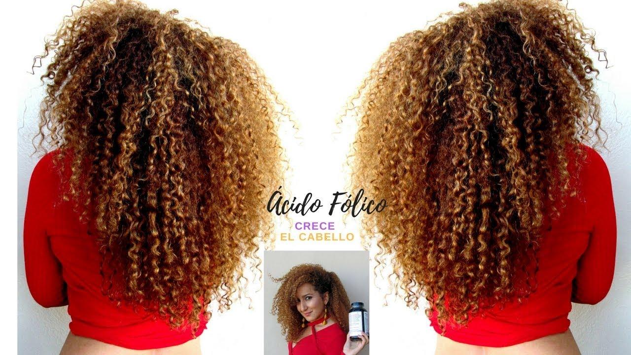 Como hacer crecer el cabello rizado naturalmente