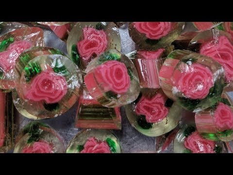 Relax and watch the Making of Crystal Rose Candies at Lofty Pursuits