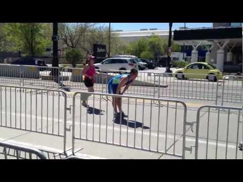 Salt Lake City Marathon 2012- The Last .2 miles