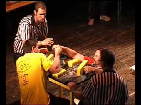 Swiss Open 2010 - int. Armwrestling - Turnier in der Schweiz