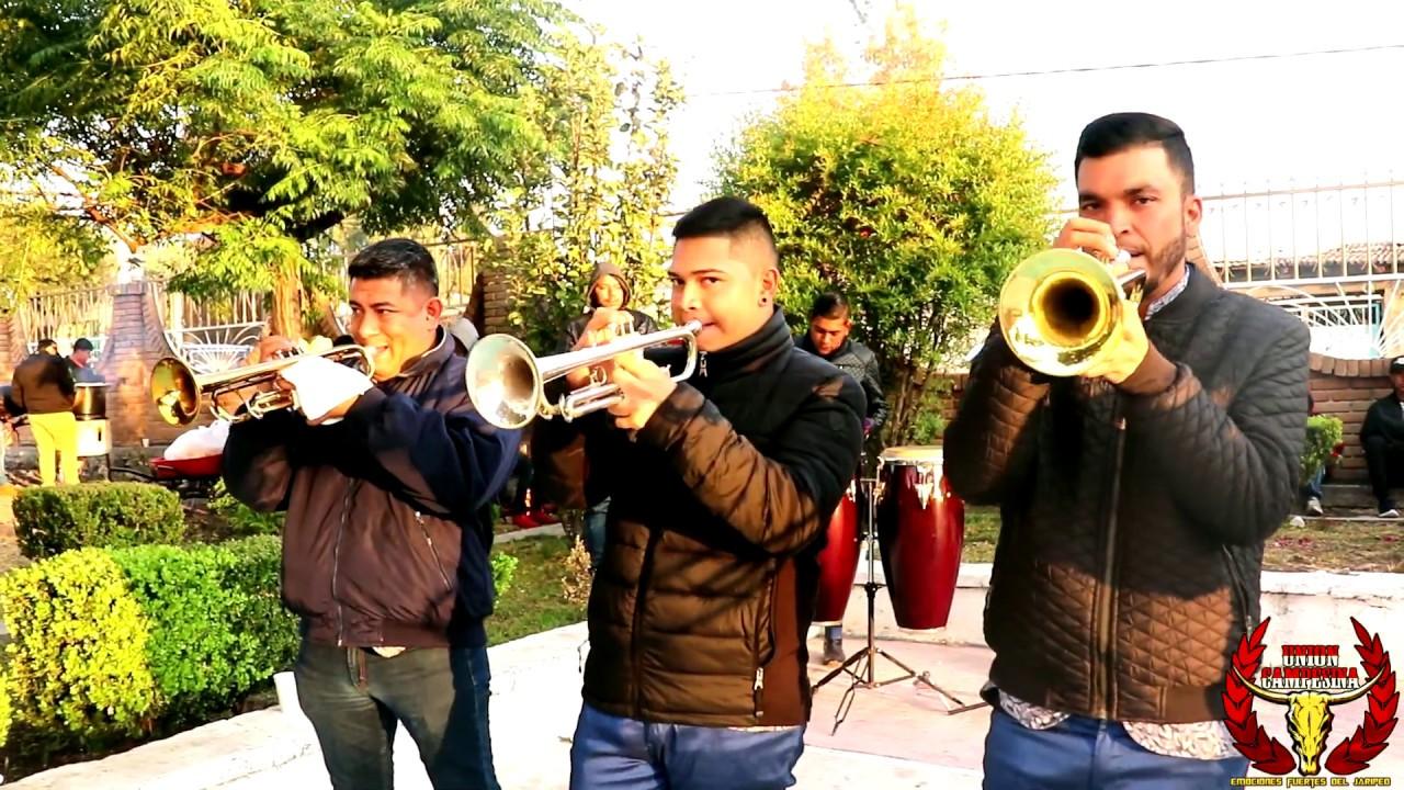 Chulada 2020 ! El Son Huesero Banda La Huesera a viento en Cuparataro Michoacan